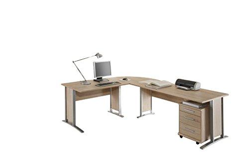 stella trading office line winkelkombinantion holzdekor sonoma 220 x 170 x 72 cm - Stella Trading Office Line Winkelkombinantion, Holzdekor, Sonoma, 220 x 170 x 72 cm